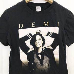 Demi Lovato Concert Tour Graphic Shirt 2016 Music
